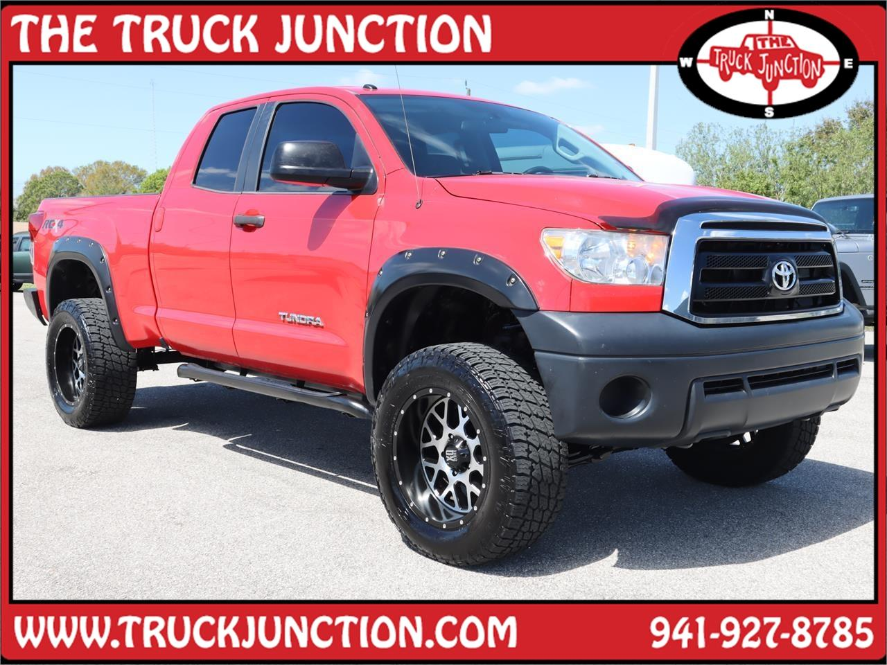 2013 Toyota Tundra 4WD Truck Double Cab 4.6L V8 6-Spd AT