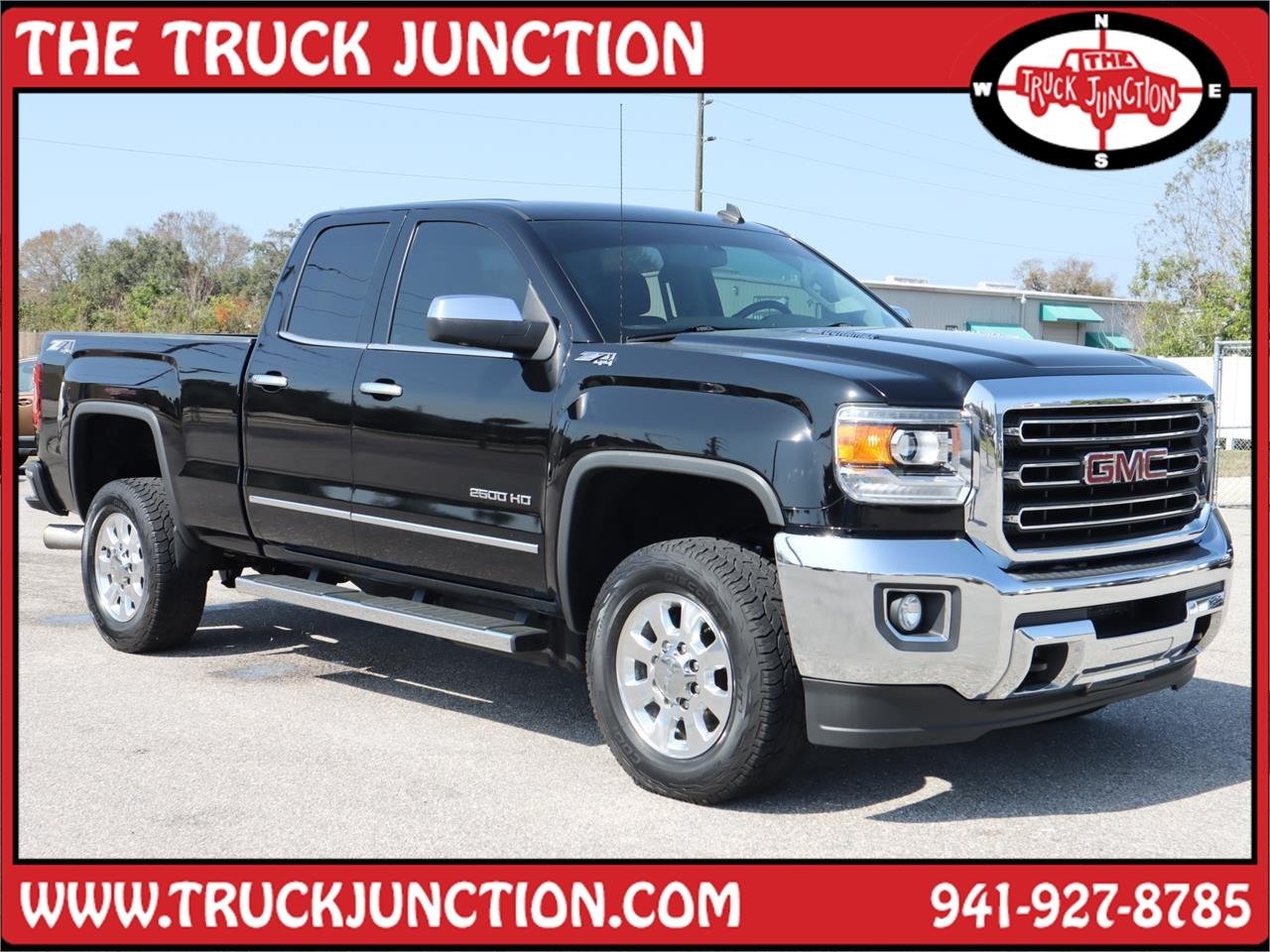 2015 GMC Sierra 2500HD 4WD Double Cab SLT