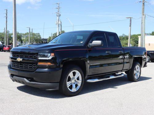2016 Black Chevy Silverado Pickup in Sarasota
